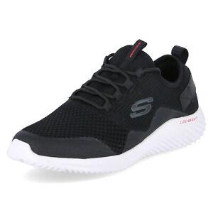 Sketches Herren Sneaker Bounder Arkala schwarz Textil Synthetik