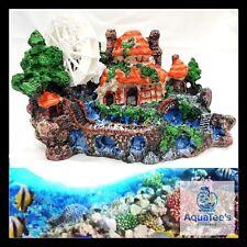 AQUARIUM FISH TANK HOUSE DECORATION 27CM ORNAMENT AQUA MARINE FRESH WATER