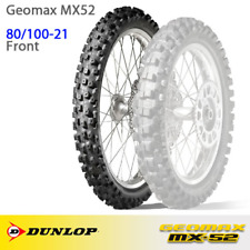 "NEW Dunlop Geomax MX52 MX Motocross Tyre - Front 80/100-21"""