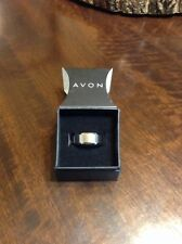 Avon Men's Brushed Stainless Steel Band Size 10