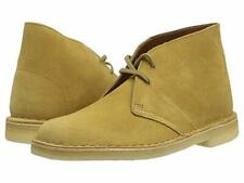 Clarks Desert Boot, Suede, Oak Color, Men's Size 13, Brand-new in Box