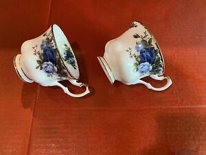 Royal Albert Moonlight Rose 2 Tea Coffee Cups