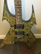 "B.C. Rich Body Art Collection BrassCity 2003 6 String Electric Guitar ""Beast"""