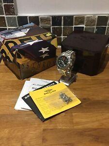 Mens Breitling Transocean Chronograph Quartz Watch A53040.1