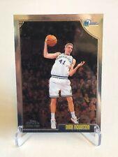 DIRK NOWITZKI Mavericks 1998-99 Topps Chrome Rookie Card #154 SP RC