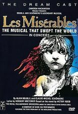 Les Miserables - In Concert (DVD, 1998)
