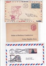 Temple Texas 1947 Airport Dedication Air Mail + 1915 Card + 2000 Cover !