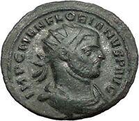Florian 276AD RARE Ancient Roman Coin Felicitas Good luck Cult Commerce  i55485