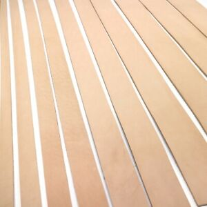 "Premium Grade Vegetable Veg Tan Tooling Cowhide Leather Belt Strap 48-52"""