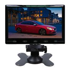 "9"" Ultra-thin HD 800*480 TFT LCD 2 Video Input DVD VCR Car Rear View Monitor"