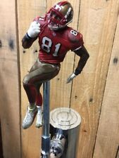 San Francisco 49ers Tap Handle Terrell Owens Beer Keg NFL FOOTBALL Red Jersey