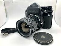 【EXC+5】Pentax 6x7 67 Film Camera + TTL Finder + SMC T 75mm F4.5 Lens From Japan