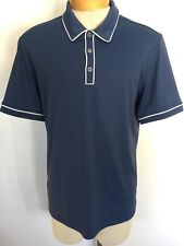 Adidas Golf Men's Polo Rugby Shirt Size Medium Very Good Like New Solid! E1