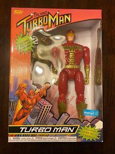 "Funko Jingle All The Way 13.5"" Talking TURBO MAN Figure Walmart Exclusive 2021 A"