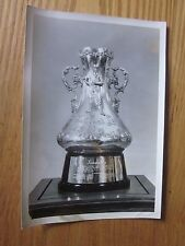 1950's Baseball Hall of Fame Wire Photo National League Trophy