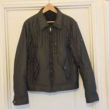 Mens Versace Bomber Jacket With Fur Collar Size 38
