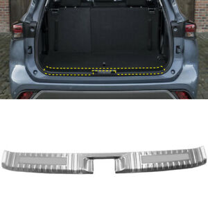 For Toyota Kluger XU70 2021 Silver Rear Inner Bumper Protector Cover Trim 1PC