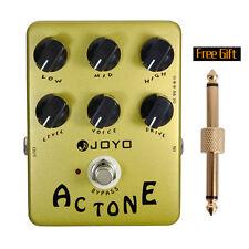 JOYO JF-13 Guitar Amplifier AC Tone Effect Pedal-True Bypass British Rock Sound