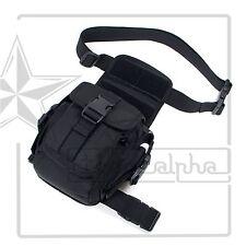 92T Nylon Tactical Rig Drop Utility Medic Thigh/Leg Pocket W/Mag Magazine Pouch