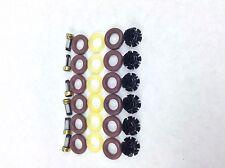 FUEL INJECTOR REPAIR KIT O-RINGS FILTERS PINTEL CAPS 1986-1993 BMW 3.5L L6