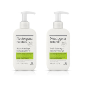 Neutrogena Naturals Fresh Cleansing + Makeup Remover 6 fl oz - 2pk Free Shipping