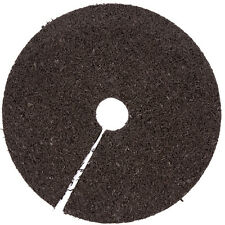 RUBBERIFIC BROWN RUBBER 24-IN DIAMETER TREE RING DECORATION GARDEN MADE IN USA