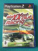 MAXXED OUT RACING PS2 SONY PLAYSTATION 2 PAL GAME COMPLETE