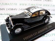 Voiture 1/43 IXO altaya Voitures d'autrefois : VOISIN C25 Aérodyne 1934