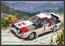Canvas 1983 Audi Quattro A1 #3 Mikkola / Hertz Portugal by Toon Nagtegaal (LE) F