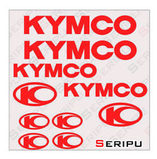 X10 PEGATINAS KYMCO RECORTE LOGO STICKERS MOTO VINILO DECAL ENDURO SCOOTER