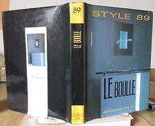 LE BOULLE STYLE 89 ART ARCHITECTURE DECORATION DESIGN AMEUBLEMENT ECOLE BOULLE