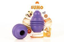 Sumo Play Naturkautschuk M 8x8x12cm violett