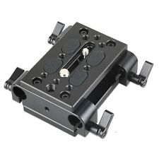 SmallRig Tripod Mounting Kit with 2 x Plates and 15mm Rod Clamps-1798