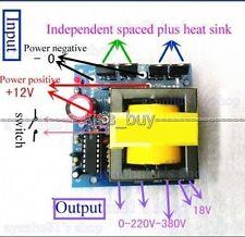 3079500W 12V To AC 18V~160V~220V 240V 380V Inverter Boost Transformer Converter