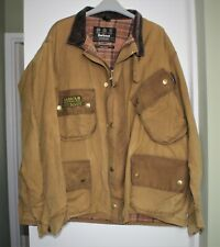 Barbour International Wax Jacket. Men's Sand Colour. Chest Size 50-52 Inches.