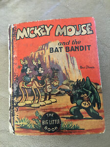Vintage Walt Disney's 1935 Golden Age The Better little comic book Mickey Mouse!