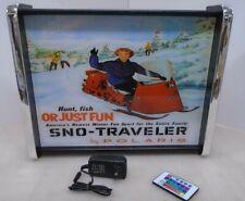 Polaris Sno Traveler Snowmobile LED Display light sign box