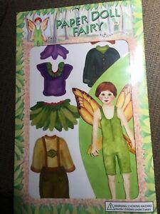 New Enchantmints Fairy Fynn Paper Doll Activity Set