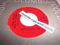 PAUL REVERE & RAIDERS-HAPPENING '68/TOO MUCH TALK-COLUMBIA 4-44444-VG+ VINYL 45
