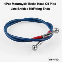 1 X 91cm Motorcycle Motorbike ATV Pit Bike Braided Brake Oil Hose Line UK NEW