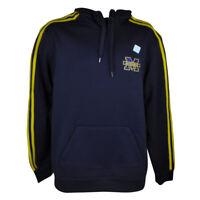 NCAA Michigan Wolverines Adidas Mens Adult Hoodie Sweater Winter Navy Blue
