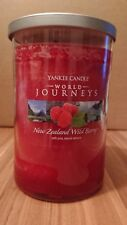 Yankee Candle World Journeys New Zealand Wild Berry (566 g)
