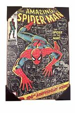 AMAZING SPIDER-MAN 100th Anniversary MARVEL Wood WALL ART 13'' x 19''