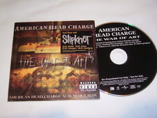 CD - American Head Charge War of Art - Promo Cardcover - K