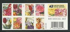 2016 #5051C Botanical Art Booklet of 20 Forever Stamps with #5042-5051
