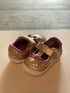 *New Without Box* Stride Rite Mary Jane Flat - Toddler's Size 6 - Gold/Purple