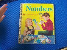 VINTAGE LITTLE GOLDEN BOOK - NUMBERS