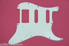 Golpeador Pickguard Stratocaster 3 Capas Mint Green HSS Humbucker Salvapuas