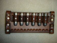 SASS LEATHER 45 LONG COLT CARTRIDGES HOLDER LOOPS BROWN(20 days to get it done)