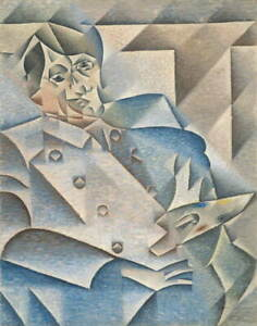 Juan Gris Portrait of Pablo Picasso Giclee Art Paper Print Poster Reproduction